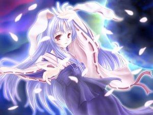 Rating: Safe Score: 10 Tags: animal_ears bunny_ears bunnygirl japanese_clothes miko reisen_udongein_inaba touhou User: Oyashiro-sama