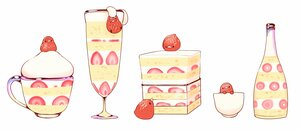 Rating: Safe Score: 15 Tags: animal bird cake chai_(artist) food fruit nobody original polychromatic signed strawberry waifu2x white User: otaku_emmy