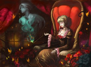 Rating: Safe Score: 46 Tags: beatrice butterfly umineko_no_naku_koro_ni User: BoobMaster
