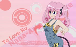 Rating: Safe Score: 76 Tags: long_hair nana_asta_deviluke pink_hair purple_eyes to_love_ru twintails User: meccrain