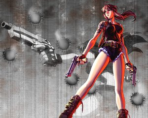 Rating: Safe Score: 41 Tags: black_lagoon gun revy weapon User: happygestapo