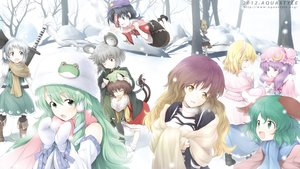 Rating: Safe Score: 82 Tags: alice_margatroid animal_ears aqua-lia catgirl chen group hat hijiri_byakuren japanese_clothes kasodani_kyouko kochiya_sanae konpaku_youmu miko miyako_yoshika mizuhashi_parsee mousegirl myon nazrin patchouli_knowledge snow touhou tree winter User: Flandre93