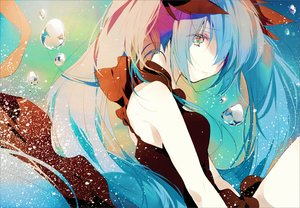 Rating: Safe Score: 67 Tags: deep-sea_girl_(vocaloid) hatsune_miku long_hair sarai_(moyashi830) twintails vocaloid User: FormX
