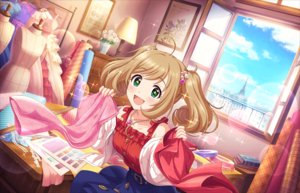 Rating: Safe Score: 21 Tags: annin_doufu blonde_hair building city clouds flowers green_eyes idolmaster idolmaster_cinderella_girls idolmaster_cinderella_girls_starlight_stage long_hair necklace paper satou_shin skirt sky twintails User: otaku_emmy