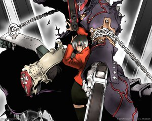 Rating: Safe Score: 11 Tags: gungrave tagme User: lost91colors