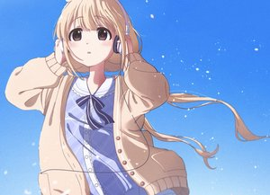 Rating: Safe Score: 25 Tags: blonde_hair blush cropped futaba_anzu headphones idolmaster idolmaster_cinderella_girls loli long_hair vivid_(key) User: sadodere-chan