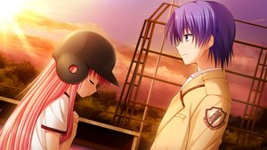 Rating: Safe Score: 27 Tags: angel_beats! game_cg hinata_hideki male na-ga yui_(angel_beats!) User: Tensa