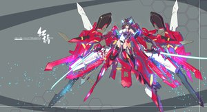 Rating: Safe Score: 150 Tags: infinite_stratos jpeg_artifacts mecha nenchi shinonono_houki sword weapon User: FormX