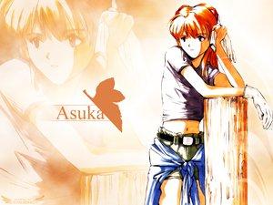 Rating: Safe Score: 67 Tags: blue_eyes gloves long_hair navel neon_genesis_evangelion orange_hair shorts soryu_asuka_langley zoom_layer User: Oyashiro-sama