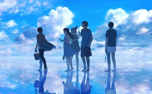 Rating: Safe Score: 101 Tags: clouds dress food hat original pocky sky summer water zipperradio User: FormX