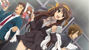Rating: Safe Score: 45 Tags: brown_hair game_cg koizumi_itsuki kyon male paper ribbons school_uniform skirt suzumiya_haruhi suzumiya_haruhi_no_tsuisou suzumiya_haruhi_no_yuutsu User: SciFi