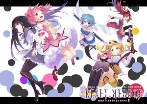Rating: Safe Score: 52 Tags: akemi_homura black_hair blonde_hair blue_eyes blue_hair boots bow breasts brown_eyes charlotte_(mahou_shoujo_madoka_magica) dress gloves group headband kaname_madoka kneehighs long_hair mahou_shoujo_madoka_magica miki_sayaka panties pantyhose pink_eyes pink_hair purple_eyes red_hair sakura_kyouko school_uniform shirabi_(life-is-free) short_hair skirt tomoe_mami underwear yellow_eyes User: luckyluna