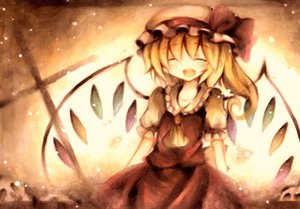 Rating: Safe Score: 57 Tags: blonde_hair flandre_scarlet hat jpeg_artifacts polychromatic touhou vampire wings wiriam07 User: PAIIS