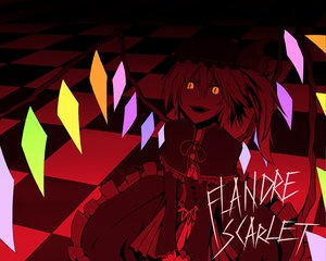 Rating: Safe Score: 31 Tags: flandre_scarlet hat polychromatic touhou vampire wings User: Tensa