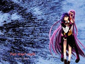 Rating: Safe Score: 6 Tags: fate_(series) fate/stay_night matou_sakura rider trimoon User: Oyashiro-sama