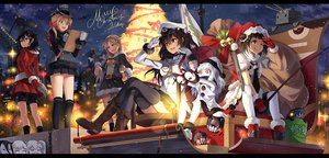 Rating: Safe Score: 20 Tags: aircraft_carrier_oni battleship-symbiotic_hime bell black_hair blonde_hair blue_eyes boots bow brown_eyes brown_hair christmas crying dress gloves group hat horns i-class_destroyer kantai_collection kneehighs long_hair midway_hime naka_(kancolle) neko_(yanshoujie) northern_ocean_hime prinz_eugen_(kancolle) red_eyes rensouhou-chan ribbons ryuujou_(kancolle) santa_hat shigure_(kancolle) short_hair signed socks stars tears thighhighs tree twintails uniform white_hair wink yuudachi_(kancolle) User: Flandre93