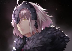 Rating: Safe Score: 26 Tags: 55level close fate/grand_order fate_(series) headdress jeanne_d'arc_alter jeanne_d'arc_(fate) short_hair white_hair yellow_eyes User: otaku_emmy