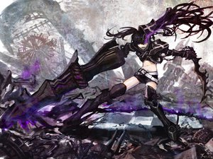 Rating: Safe Score: 133 Tags: black_rock_shooter gun insane_black_rock_shooter m874 scar sword weapon User: HawthorneKitty