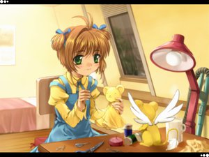 Rating: Safe Score: 25 Tags: card_captor_sakura kero kinomoto_sakura moonknives User: 秀悟