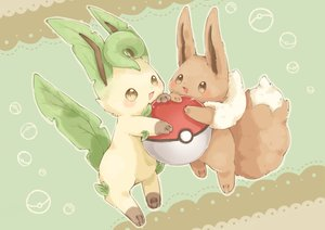 Rating: Safe Score: 10 Tags: collet_(pixiv17839028) eevee leafeon pokemon User: otaku_emmy