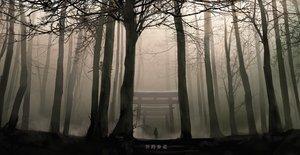 Rating: Safe Score: 67 Tags: dark forest izna_(iznatic) original polychromatic scenic torii tree User: mattiasc02