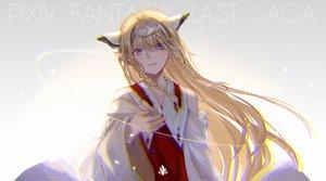 Rating: Safe Score: 54 Tags: achyue blonde_hair blue_eyes braids gradient long_hair original pixiv_fantasia pointed_ears User: RyuZU
