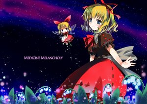 Rating: Safe Score: 19 Tags: blonde_hair blue_eyes dress flowers gochou_(comedia80) jpeg_artifacts medicine_melancholy ribbons short_hair su-san touhou wings User: RyuZU