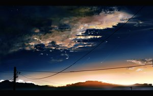 Rating: Safe Score: 98 Tags: 9210 clouds nobody original scenic sky stars sunset User: STORM