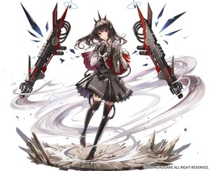 Rating: Safe Score: 44 Tags: aliasing black_hair boots cape dress gloves gun headdress kim_eb long_hair mechagirl punishing:_gray_raven red_eyes thighhighs tifa_(punishing:_gray_raven) weapon white zettai_ryouiki User: otaku_emmy