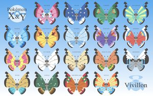 Rating: Safe Score: 11 Tags: butterfly gradient namima_usagi pokemon vivillon User: otaku_emmy