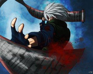 Rating: Safe Score: 27 Tags: all_male gray_hair hatake_kakashi male naruto red_eyes User: Oyashiro-sama