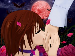 Rating: Safe Score: 3 Tags: flowers rose vampire_knight yuuki_cross User: N1