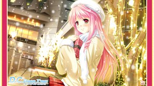 Rating: Safe Score: 46 Tags: ayakaze_ryuushou christmas da_capo_dream_x'mas hanasaki_akane hat long_hair pantyhose pink_hair red_eyes skirt snow User: meccrain