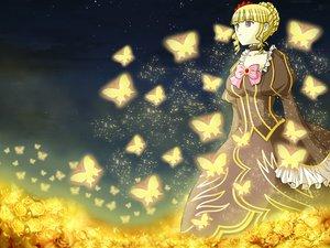 Rating: Safe Score: 6 Tags: beatrice butterfly flowers rose seraphina umineko_no_naku_koro_ni User: seraphina