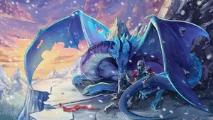 Rating: Safe Score: 47 Tags: all_male dragon game_cg ice_dragon_lin male mirror_(game) snow tagme_(artist) User: Demuwu