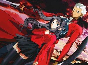 Rating: Safe Score: 17 Tags: archer fate_(series) fate/stay_night male scan tohsaka_rin User: Oyashiro-sama