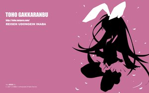 Rating: Safe Score: 41 Tags: animal_ears bunny_ears bunnygirl long_hair pink polychromatic reisen_udongein_inaba silhouette skirt touhou User: gimkim