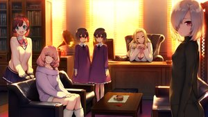 Rating: Safe Score: 58 Tags: akeiro_kaikitan bodysuit book breasts cleavage computer couch dress game_cg group hinamori_kana katsuragi_youko kuzumi_misato loli ruka_(akeiro_kaikitan) ruri_(akeiro_kaikitan) school_uniform silkys_plus sumeragi_kohaku sunset twins velvet User: luckyluna