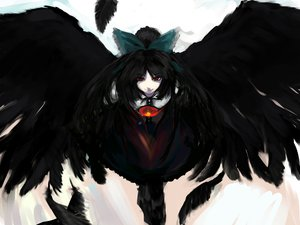 Rating: Safe Score: 103 Tags: feathers reiuji_utsuho sinzan touhou wings User: FormX