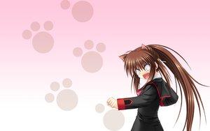 Rating: Safe Score: 10 Tags: brown_hair little_busters! long_hair na-ga natsume_rin User: Oyashiro-sama