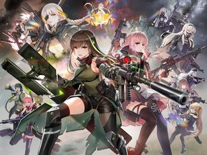 Rating: Safe Score: 33 Tags: agent_(girls_frontline) ak12_(girls_frontline) an94_(girls_frontline) angelica_(girls_frontline) anthropomorphism ar-15_(girls_frontline) bicolored_eyes boots braids breasts brown_eyes brown_hair elisa_(girls_frontline) g11_(girls_frontline) girls_frontline gloves group gun hat hk416_(girls_frontline) long_hair m16a1_(girls_frontline) m4a1_(girls_frontline) m4_sopmod_ii_(girls_frontline) nyto_polarday_(girls_frontline) pantyhose pink_hair ponytail purple_eyes red_eyes ro635_(girls_frontline) shorts skirt taesi thighhighs twintails ump-45_(girls_frontline) ump-9_(girls_frontline) weapon white_hair wink yellow_eyes User: RyuZU