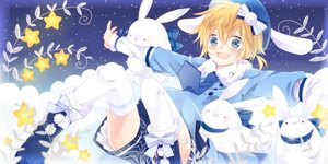 Rating: Safe Score: 18 Tags: all_male bunny kagamine_len male uutan vocaloid User: mikuna