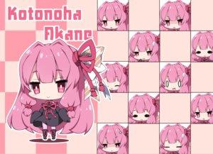 Rating: Safe Score: 10 Tags: boots bow chibi dress kotonoha_akane long_hair milkpanda pink pink_eyes pink_hair twintails voiceroid User: otaku_emmy
