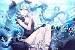 Rating: Safe Score: 80 Tags: aqua_eyes aqua_hair bubbles ddaomphyo deep-sea_girl_(vocaloid) dress hatsune_miku long_hair twintails underwater vocaloid water User: luckyluna