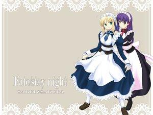 Rating: Safe Score: 11 Tags: artoria_pendragon_(all) fate_(series) fate/stay_night maid matou_sakura saber User: Oyashiro-sama