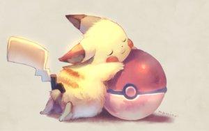 Rating: Safe Score: 81 Tags: animal ball manino_(mofuritaionaka) pikachu pokemon signed User: RyuZU