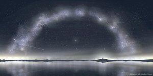Rating: Safe Score: 46 Tags: kijineko nobody original reflection scenic sky stars watermark User: RyuZU