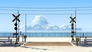 Rating: Safe Score: 46 Tags: 3d mclelun nobody original scenic shade sky train water watermark User: RyuZU