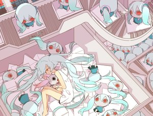 Rating: Safe Score: 17 Tags: hatsune_miku misoan vocaloid User: FormX