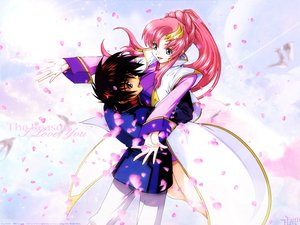 Rating: Safe Score: 9 Tags: gundam_seed gundam_seed_destiny kira_yamato lacus_clyne mobile_suit_gundam User: lost91colors
